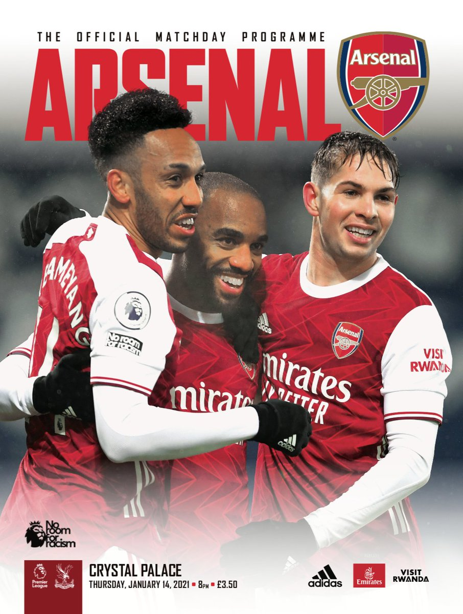🚨Tonight's #ARSCRY programme 🚨  𝙁𝙍𝙀𝙀 Digital version here    📕Order a collectible print version here   🏆And did you know we've won the club's first silverware of the season?!