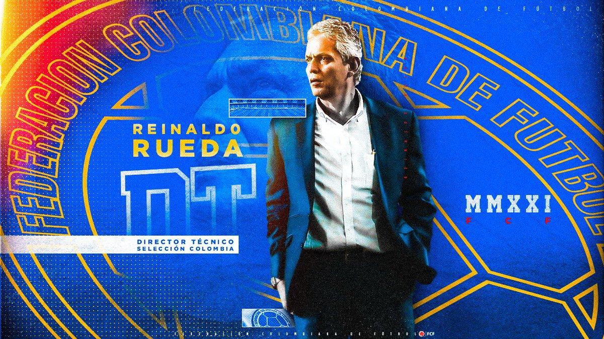 ¡Bienvenido Profe!   @ReinaldoRuedaDT es el nuevo Director Técnico de la Selección Colombia Masculina de Mayores  Muchos éxitos en esta nueva era dirigiendo el equipo de todos 🤜🤛  🔗   #VamosColombia 🇨🇴