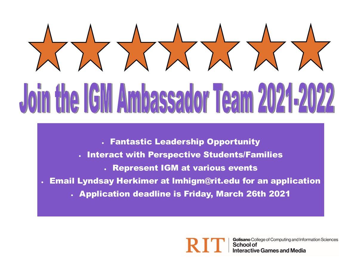 Rit 2021-2022 Calendar IGM @ RIT (@IGMRIT) | Twitter