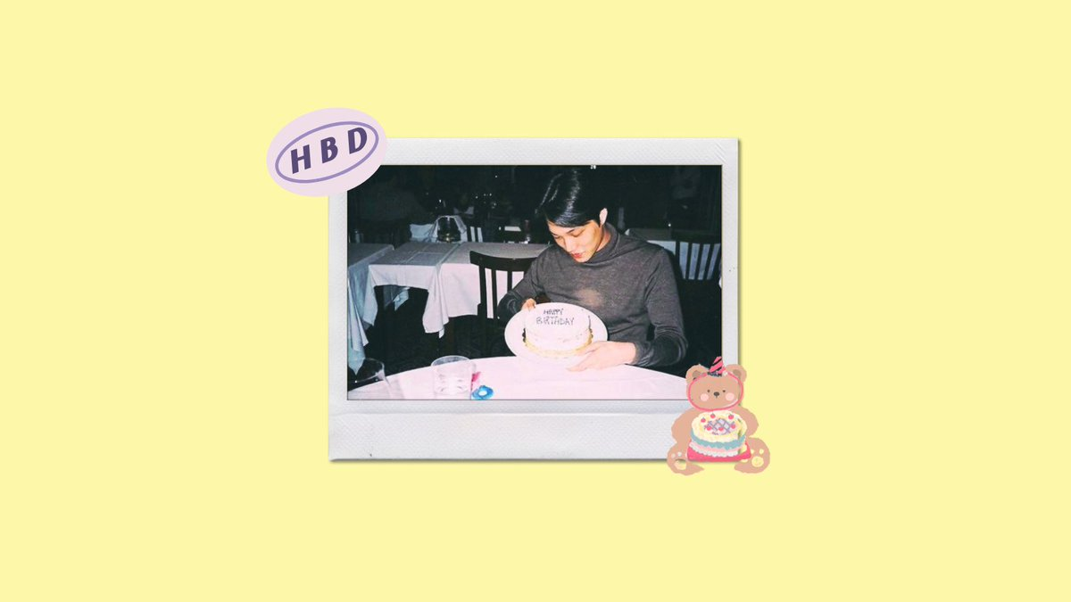 ʕっ• ᴥ • ʔっ happy bearday, kim jongin!  #ArtistKaiDay #HappyKaiDay #종인아생일축하해 #가장_따뜻한_겨울_카이