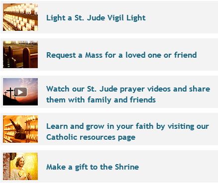Continue to nurture your devotion to St. Jude by exploring the many prayer and devotional materials available on our website:  - #petitions #intentions #stjude #saintjude #website #online #grow #faith #growinfaith #nurture #devotion #prayer #pray #catholic