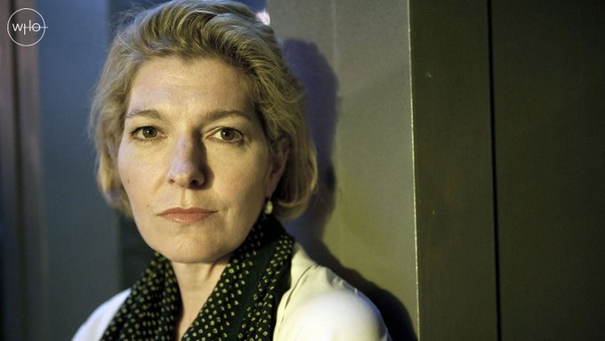 A very happy birthday to Jemma Redgrave, who plays fab scientist, loyal daughter and leader of UNIT, Kate Stewart