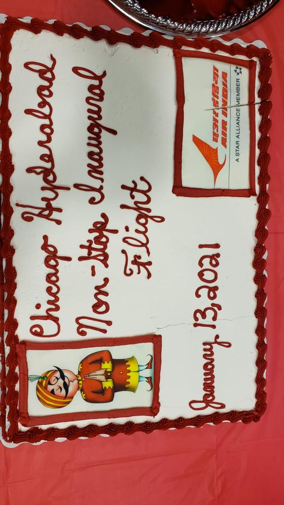 #FlyAI : Air India continues to add wind beneath its wings with the commencement of its first ever non-stop flight from #Chicago to Hyderabad.