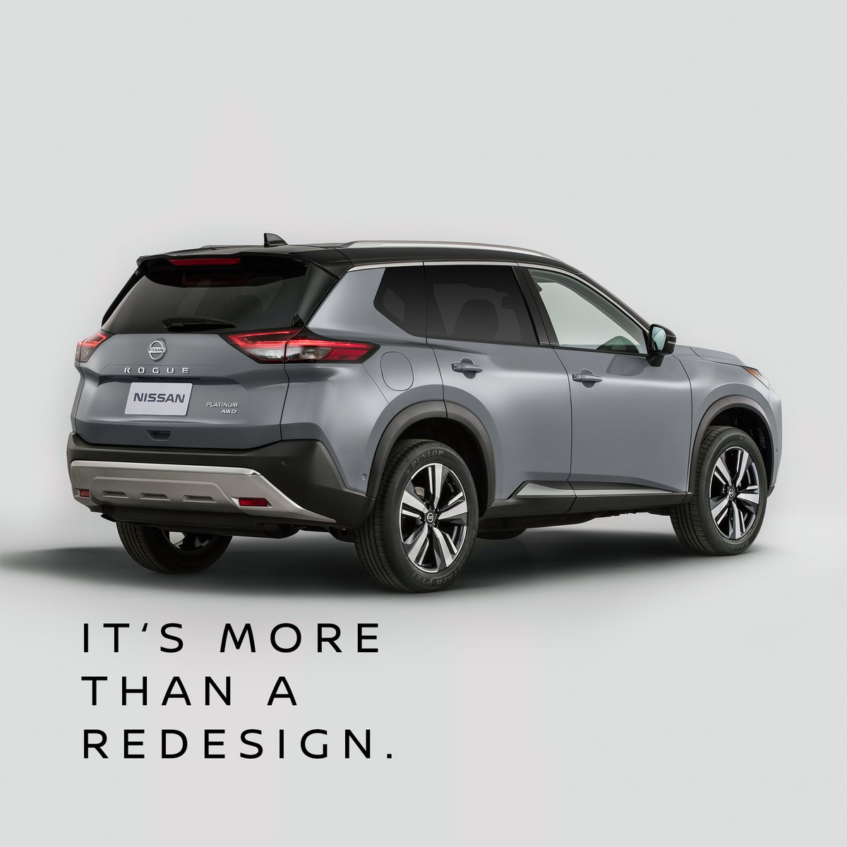 Dressed to thrill. Feast your eyes on the all-new Rogue. With jaw-dropping strength and a breakthrough design, it will make you do a double take. Introducing the all-new 2021 Nissan Rogue. #RogueGoneRogue #NissanRogue2021