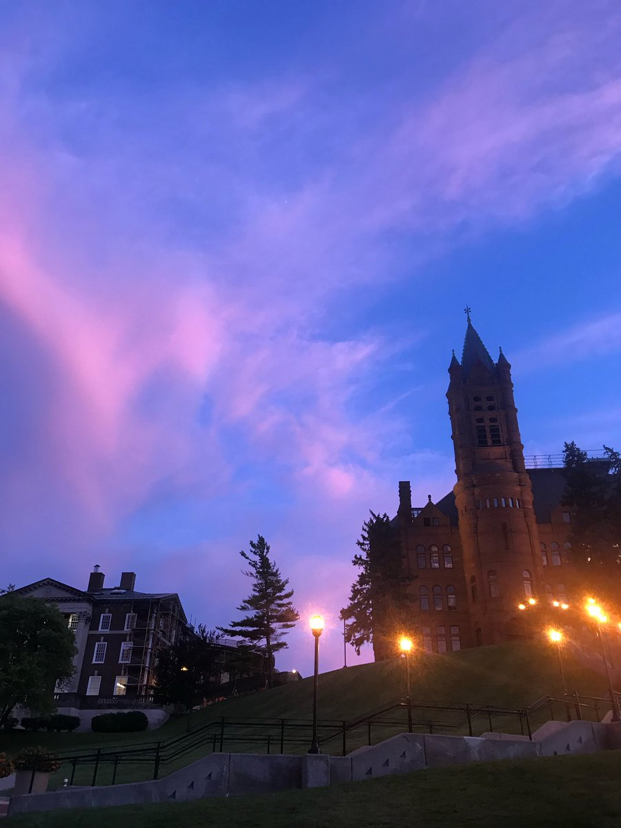 """Search the word """"SKY"""" in your camera roll and post your favorite  i miss you @SyracuseU"""