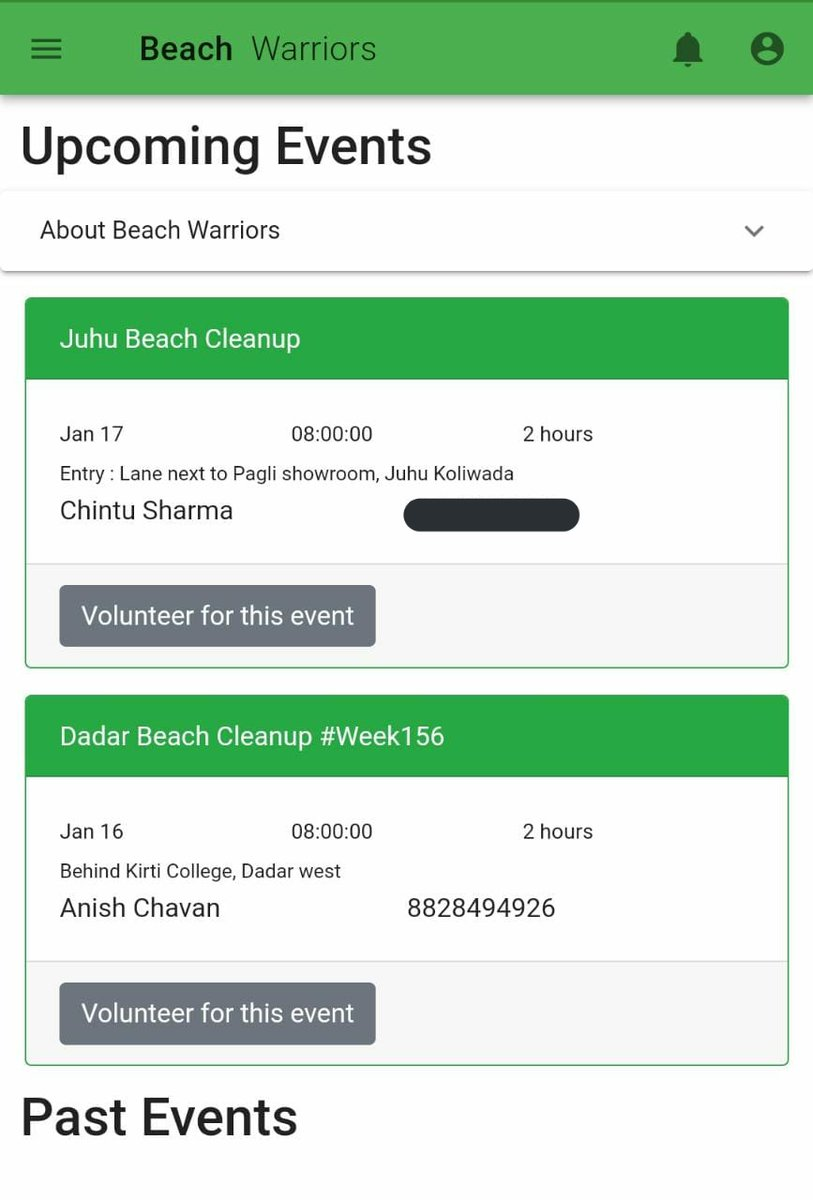 #BeachCleanup #Week156  Its easy to join the clean-up now !  Download The Beach Warriors App & join the near by Cleanups every weekend.  Link :   @AUThackeray @priyankac19 @deespeak @UNEP