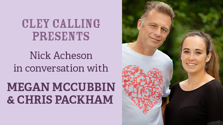 We're looking forward to this tonight! 🤩 At 7pm join NWT Ambassador @themarshtit in conversation with @MeganMcCubbin & @ChrisGPackham 📺 Book your place via Zoom here: