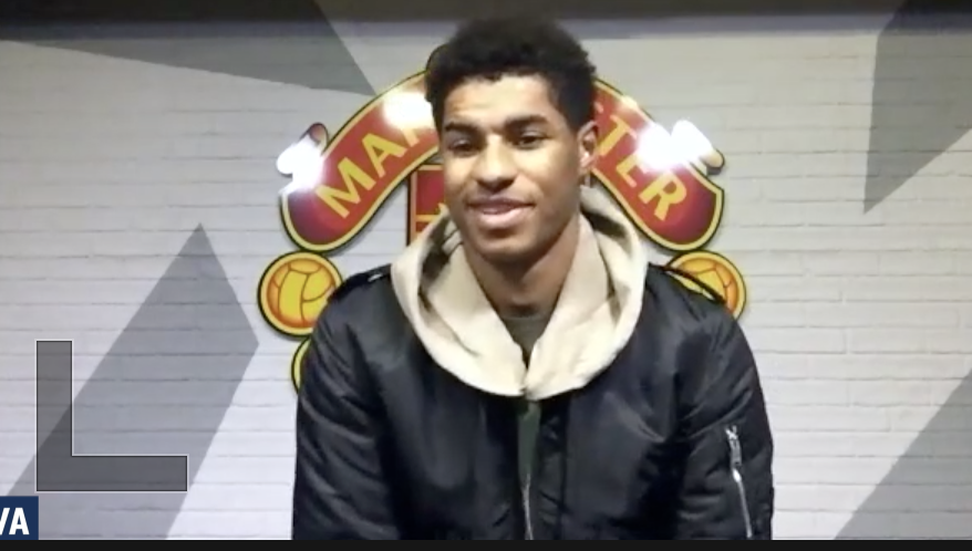 BREAKING - Marcus Rashford says he is honoured to receive the FWA Tribute Award for his outstanding work on and off the pitch.  Exclusive interview with our chair @CarrieBrownTV and contributions from Sir Alex Ferguson and Wayne Rooney. . #Rashford #mufc