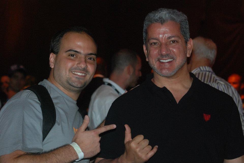 9 anos atrás eu e @brucebuffer no UFC Rio 2 #TBT https://t.co/sGwJfjqyiY