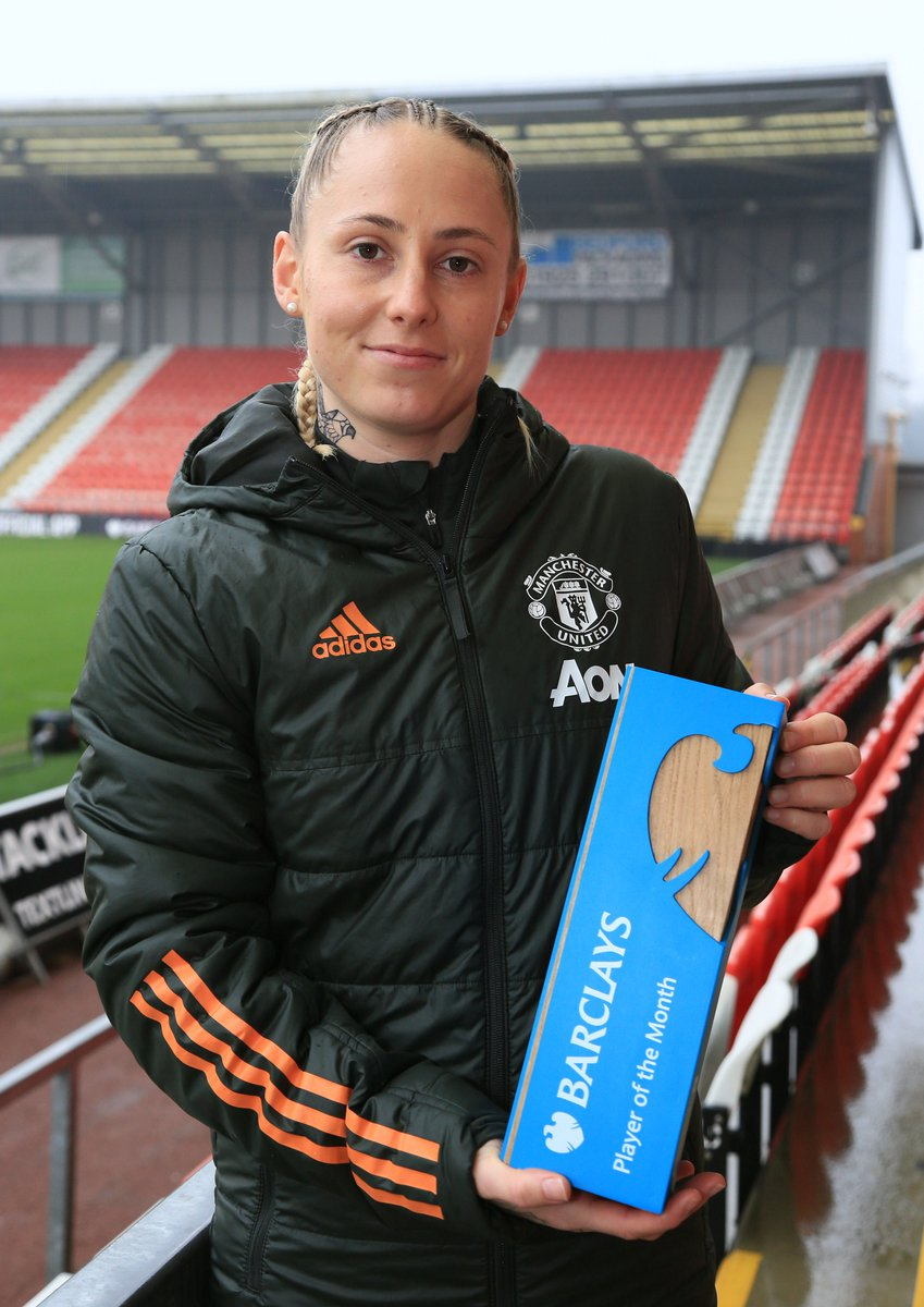 We're delighted to announce that December's Barclays Player and Manager of the Month is @leah_galton21 and @CaseyStoney of @ManUtdWomen in the @BarclaysFAWSL. Congratulations! 👏⚽️  It's #AllToPlayFor
