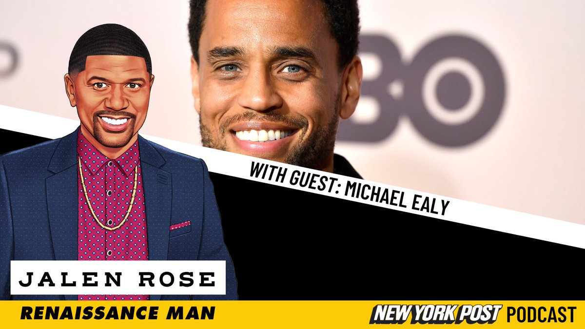 New episode of the  @JalenRose: Renaissance Man Podcast out now. Listen to the full episode with special guest @MichaelEaly now:   Apple:   Spotify: