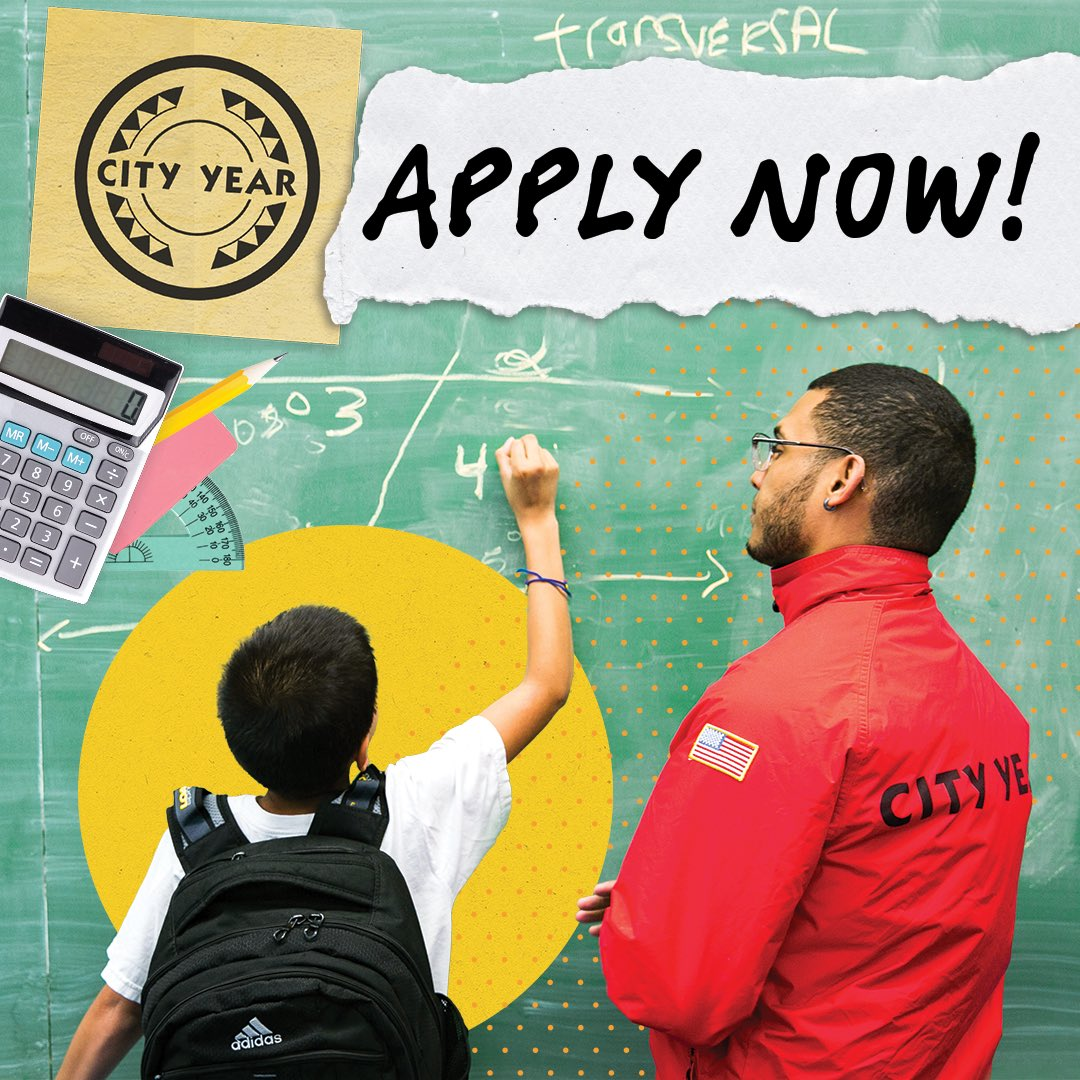 📢tremendous opportunity for young adults in our community- City Year Applications are OPEN- deadline Jan 22nd. https://t.co/Nn7YWPs58r