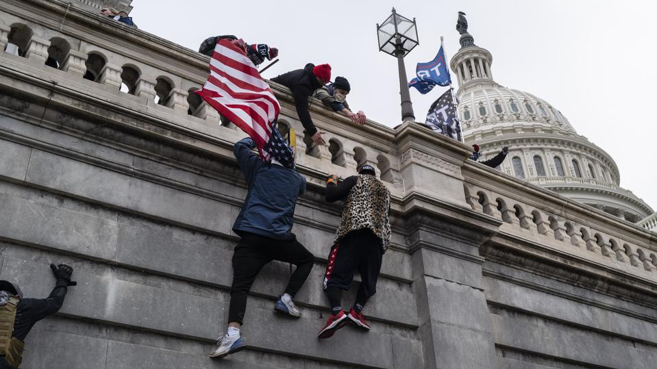 The FBI investigated Parler user's call for Proud Boys violence on Capitol Hill... 3 weeks before the siege