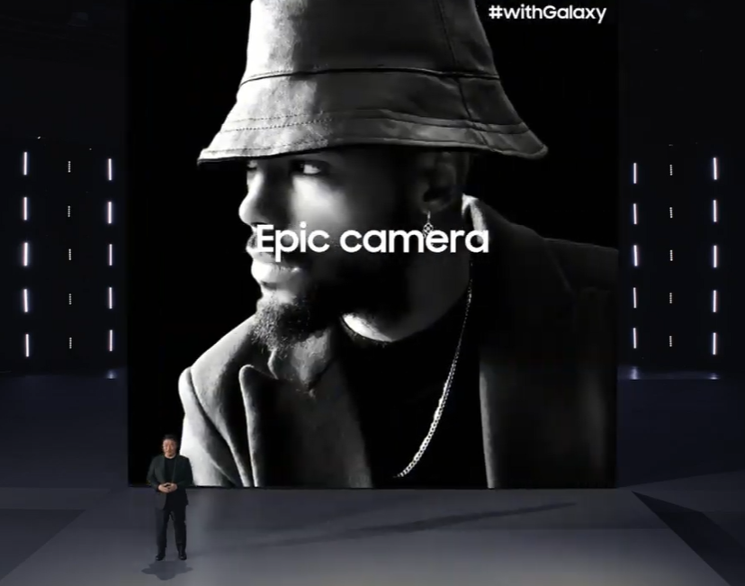 so the everyday EPIC was about the extraordinary camera of  Galaxy S20 and S21   #SamsungUnpacked