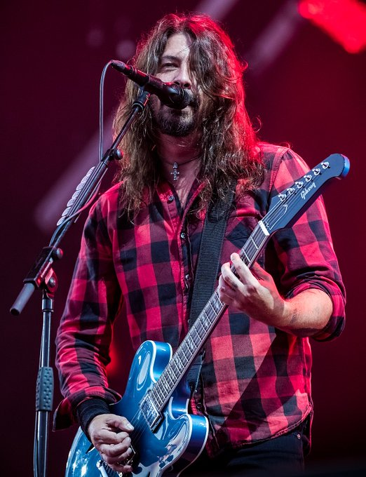 Happy 52nd Birthday, Dave Grohl!