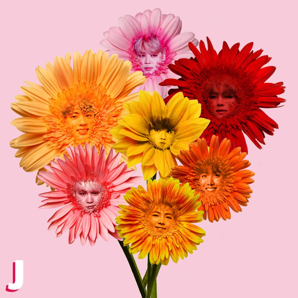 Un beau bouquet de #fleurs ❤️ RIEN QUE POUR TOI ❤️ pour bien commencer la semaine. 🌸  #MondayMotivation #BTS