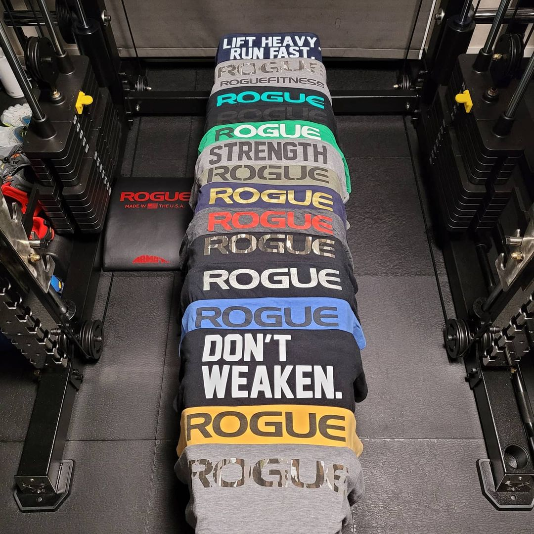 Never too many. #ryourogue  Shop T-Shirts:   Photo: gymmy_son
