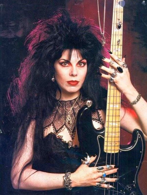 Happy birthday to my forever bass inspiration, patricia morrison <3