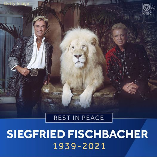Siegfried Fischbacher of Siegfried and Roy fame dies in Las Vegas Photo