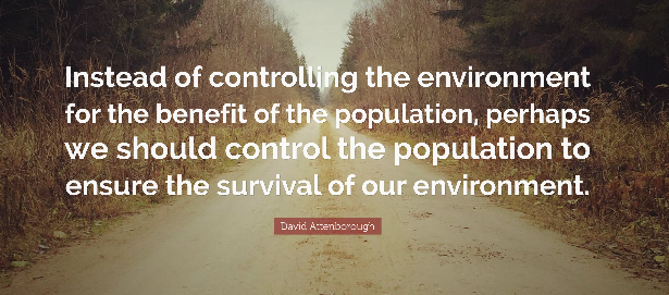 More wisdom from David Attenborough.