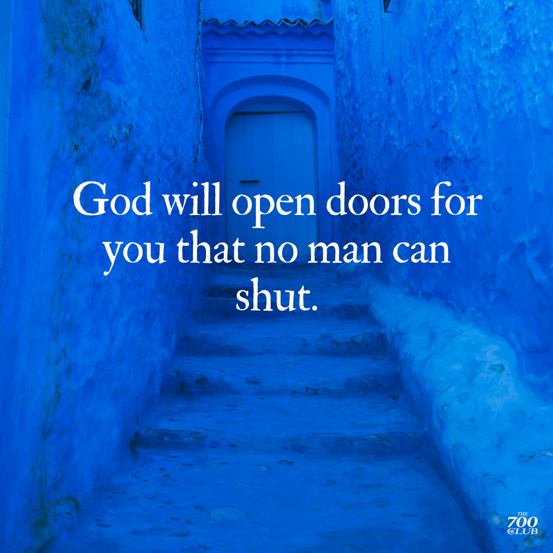 Declare this over your 2021! #OpenDoors