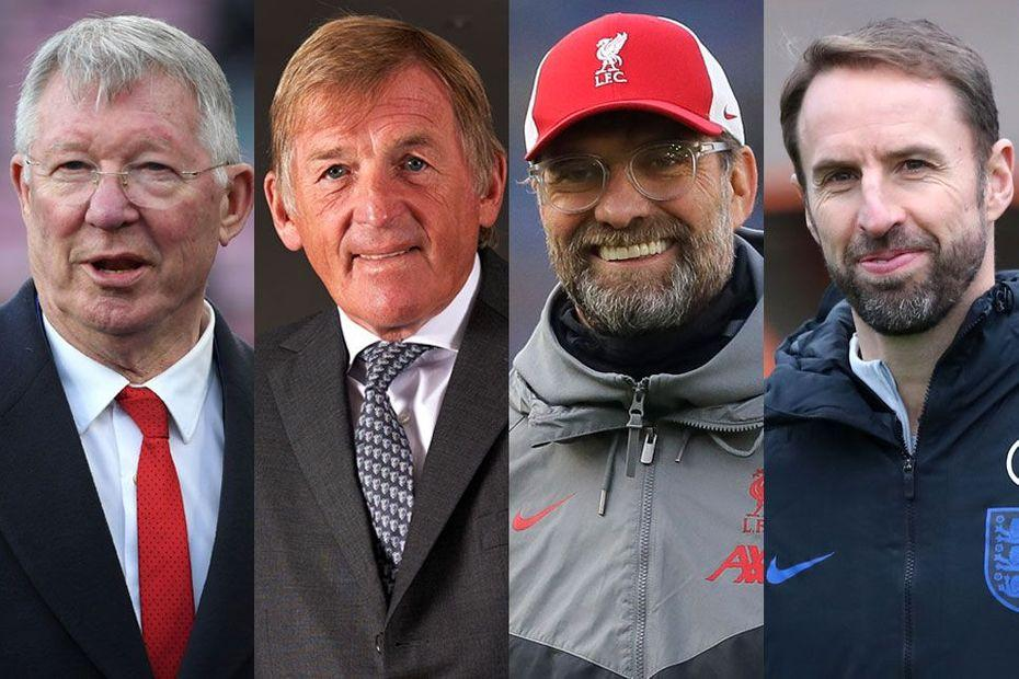 🔘 Sir Alex Ferguson 🔘 Sir Kenny Dalglish 🔘 Jurgen Klopp 🔘 Gareth Southgate  Join a live team talk with football legends to raise funds for @alzheimerssoc ➡️