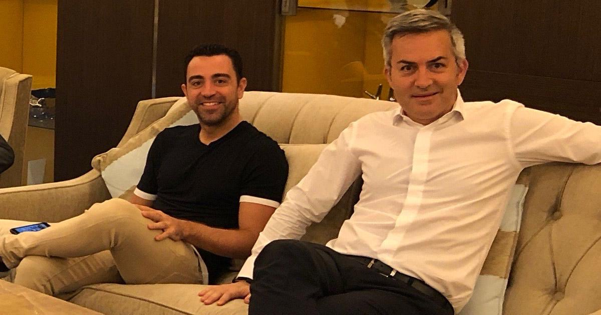 """Victor #Font: """"I speak more to #Xavi than I do to my wife."""""""