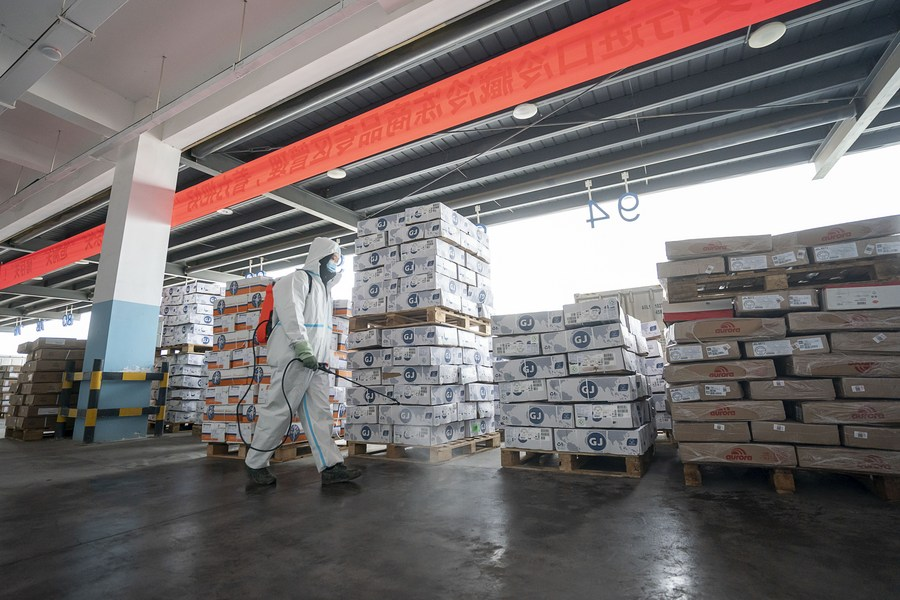 China will step up inspections of imported frozen products to prevent the spread of #COVID19 via cold chains