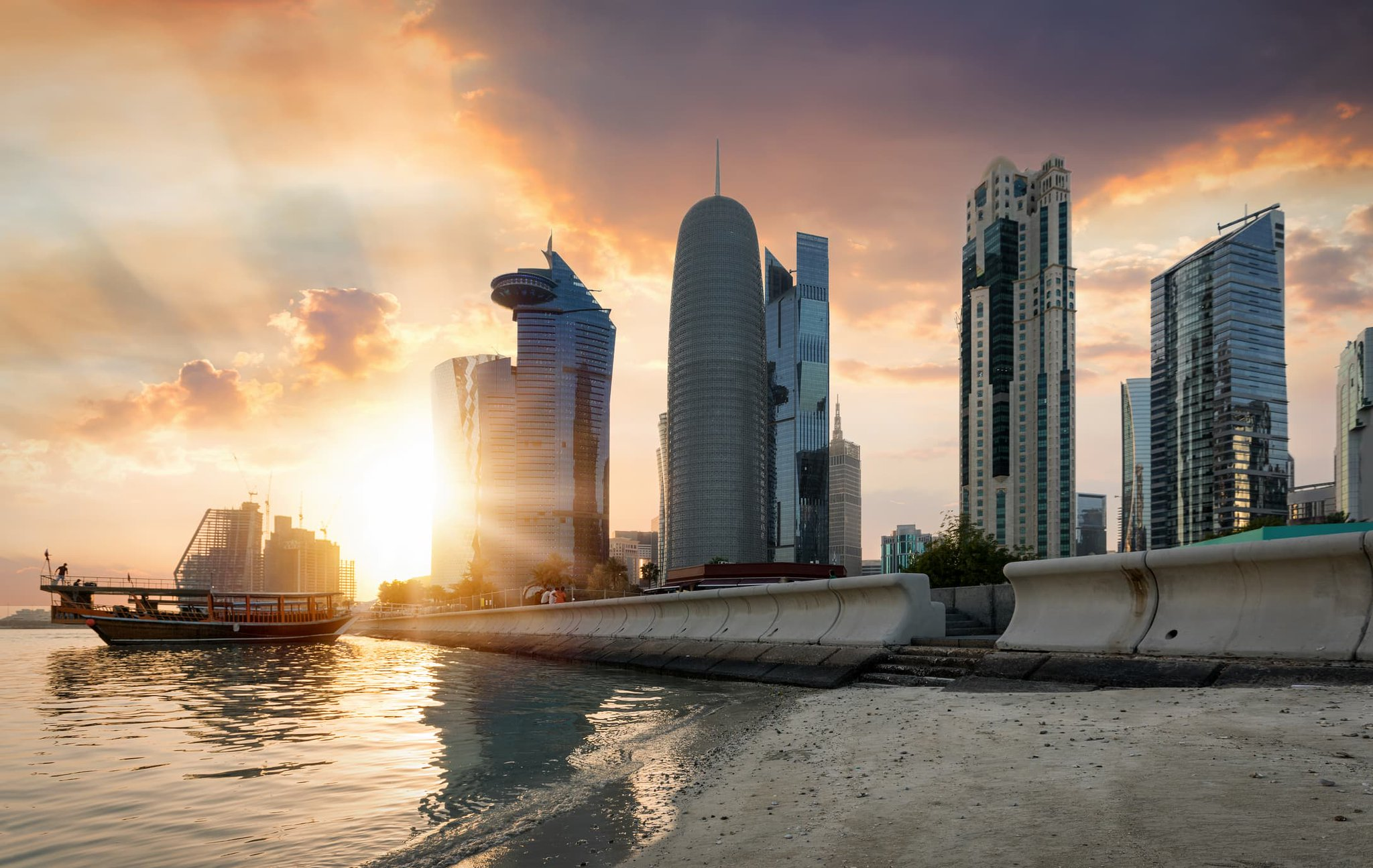 Qatar Financial Centre wants to attract $25 billion of foreign investments by 2022 as Gulf rift ends Photo
