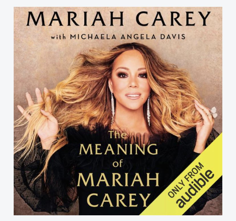 Have just finished listening to #themeaningofmariahcarey on @audibleuk and loved it! Her music has influenced my life since I first set eyes (and ears) on @MTVUK unplugged in 1992 and was hooked! Thank you for sharing your truth @MariahCarey and much love always ❤️ #lamb