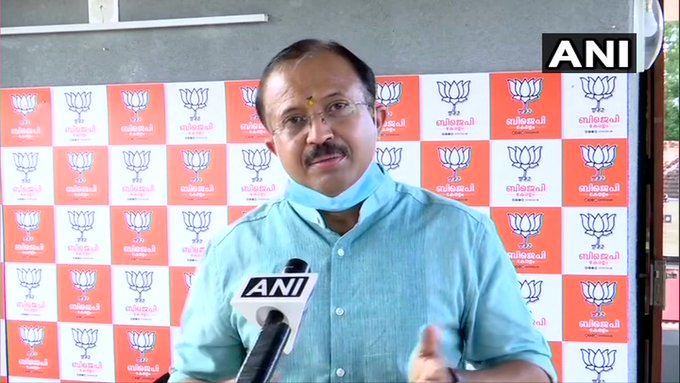 Yesterday, largest no. of COVID cases were reported in #Kerala. The state govt is not taking precautionary measures. Now, they've decided to open every sector in spite of the increasing number of cases. I'd like the state govt to be more cautious: Union Minister V Muraleedharan