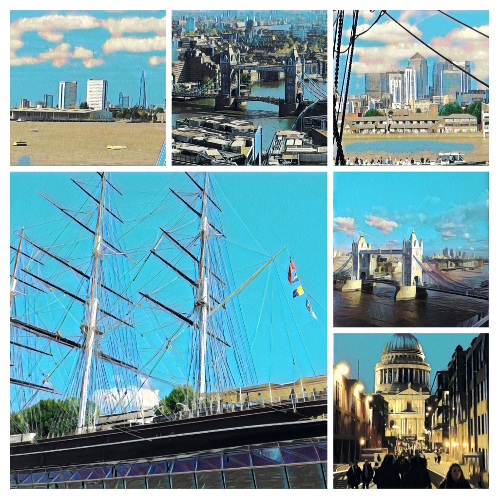 Hello #elevenseshour Original 'art' edit postcards. Send a pack as a gift, treat yourself or catch up with friends and family - 'missing you', 'sending a hug', 'looking forward' ... 🙂  Pre order #London #river