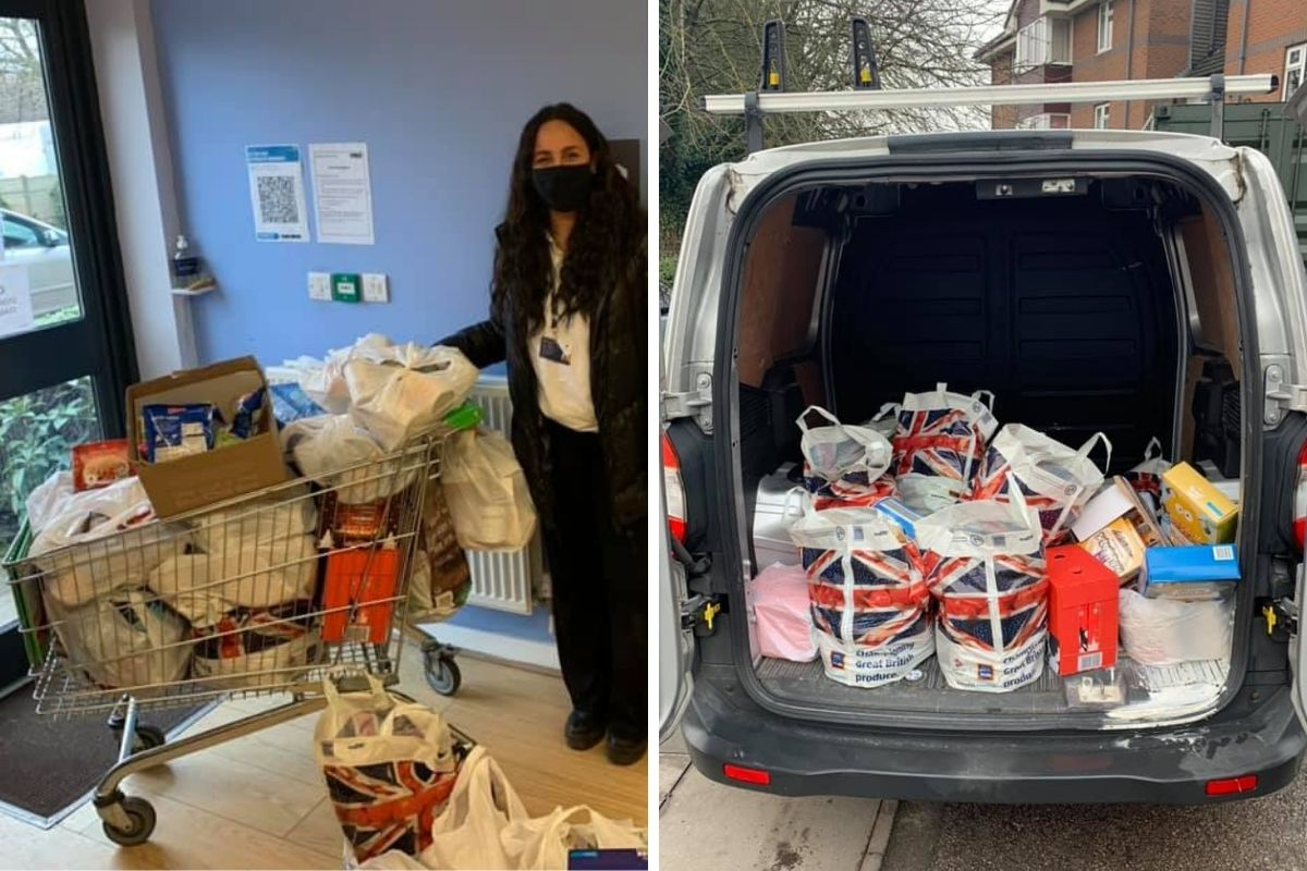 BIG thanks to Emma and the team at Novus Property Solutions for their kind donation to our Foodbank!   Super appreciated ❤  #Foodbank #Charity #NeverMoreNeeded