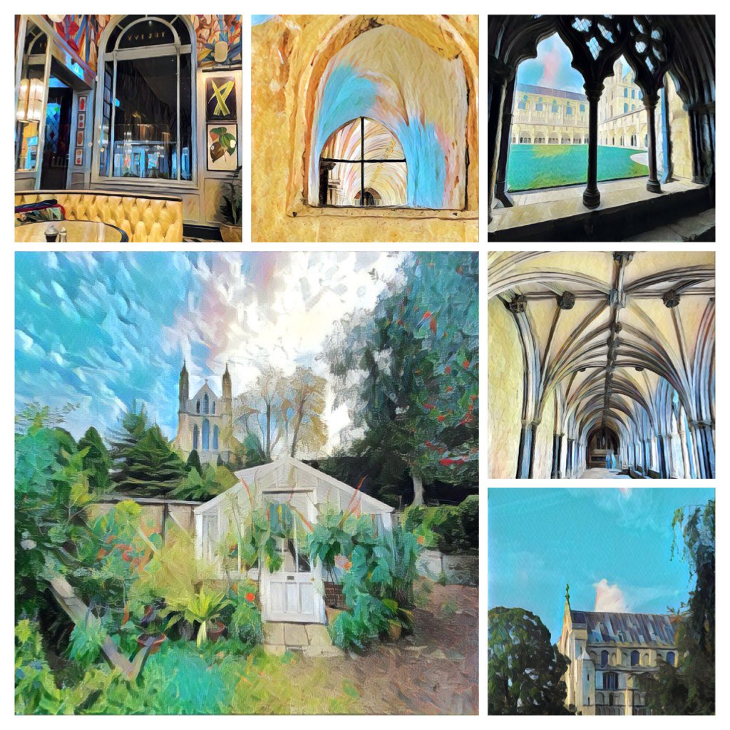 Hello #elevenseshour Original 'art' edit postcards. Send a pack as a gift, treat yourself or catch up with friends and family - 'missing you', 'sending a hug', 'looking forward' ... 🙂  Pre order #norwich #norfolk #cathedral #plantationgarden