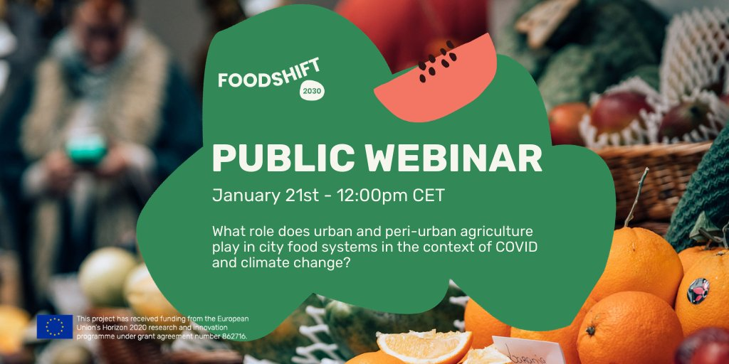 Join this interesting webinar to learn about the benefits of urban agriculture!  #urbanagriculture #ediblecities