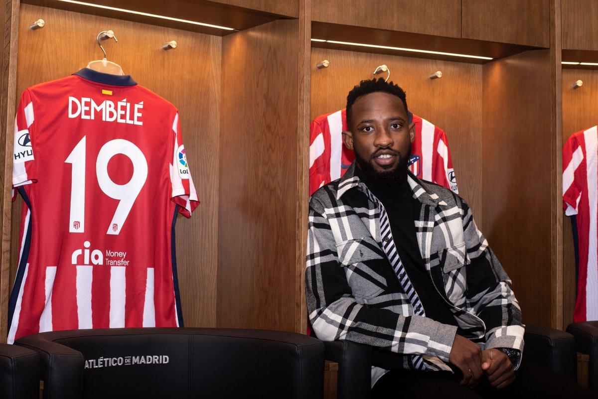 🔴⚪ #WelcomeDembélé  Introducing your new Atleti no. 19 🔥  🏧 #AúpaAtleti