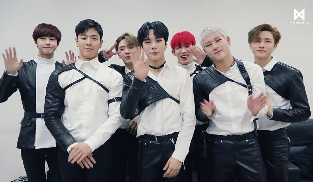 Replying to @PoisonNeptune: Monsta X slaying harnesses, chains, chokers trend - a dangerous thread