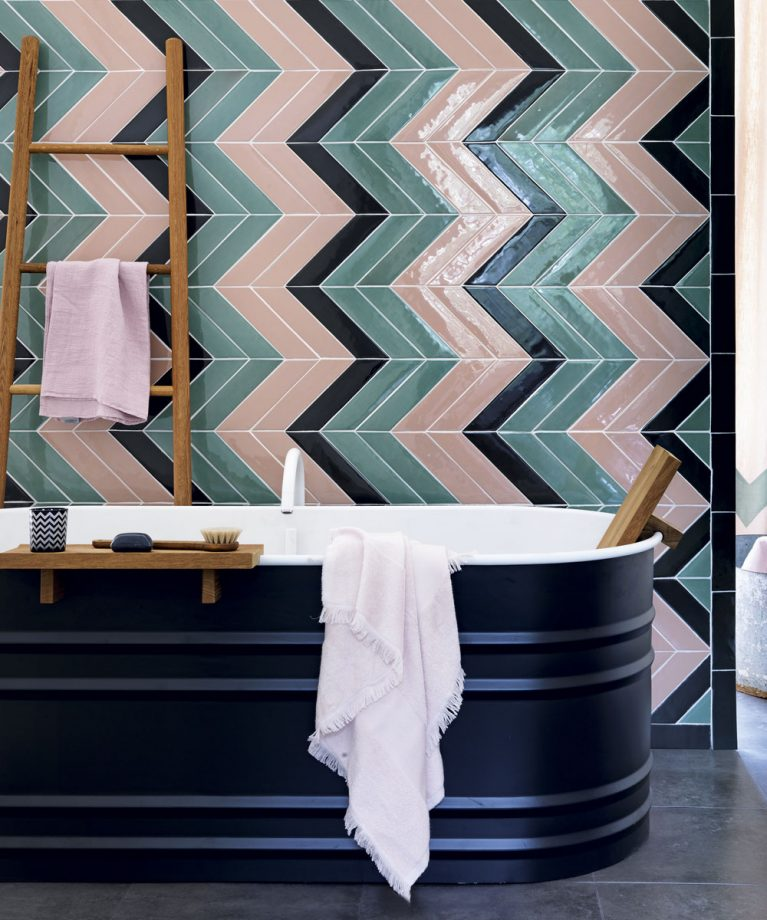 test Twitter Media - We love these beautiful bathroom tile ideas from @idealhome including tips such as creating a statement with mosaics or opting for a chevron design for a contemporary look 😍 Check out the full article here: https://t.co/twMzkMVfbP Image: Simon Brown https://t.co/6It5WLnHgM