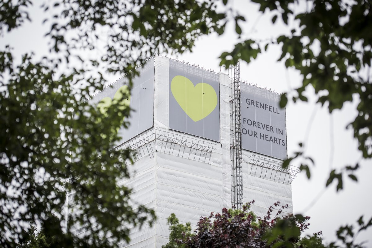43 months.  72 lives are forever in our hearts. 💚  Truth. Justice. Change.  #Grenfell