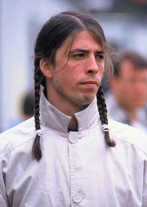 Happy Birthday to the one and only Pipi Longstocking Dave Grohl