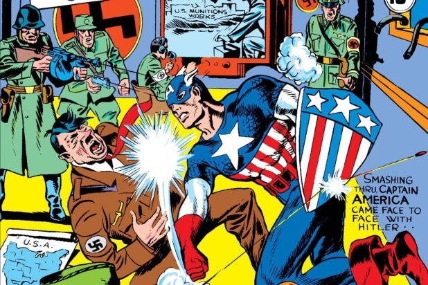 Jack Kirby's Son Denounces Trump Rioters in Captain America Gear: 'Disgusting and Disgraceful' Photo