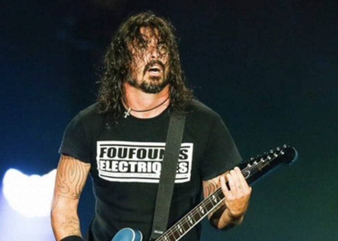 Dave Grohl 52th happy birthday