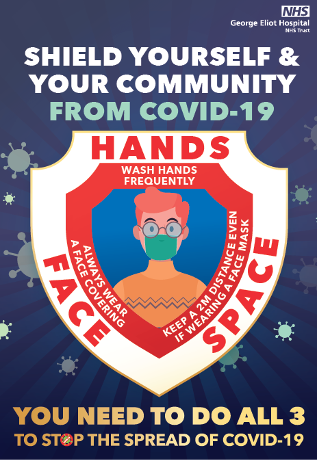 As many as 1 in 3 people with #Covid19 have no symptoms.  We must all keep on protecting each other by washing our hands regularly, wearing face coverings and keeping space. #HandsFaceSpace