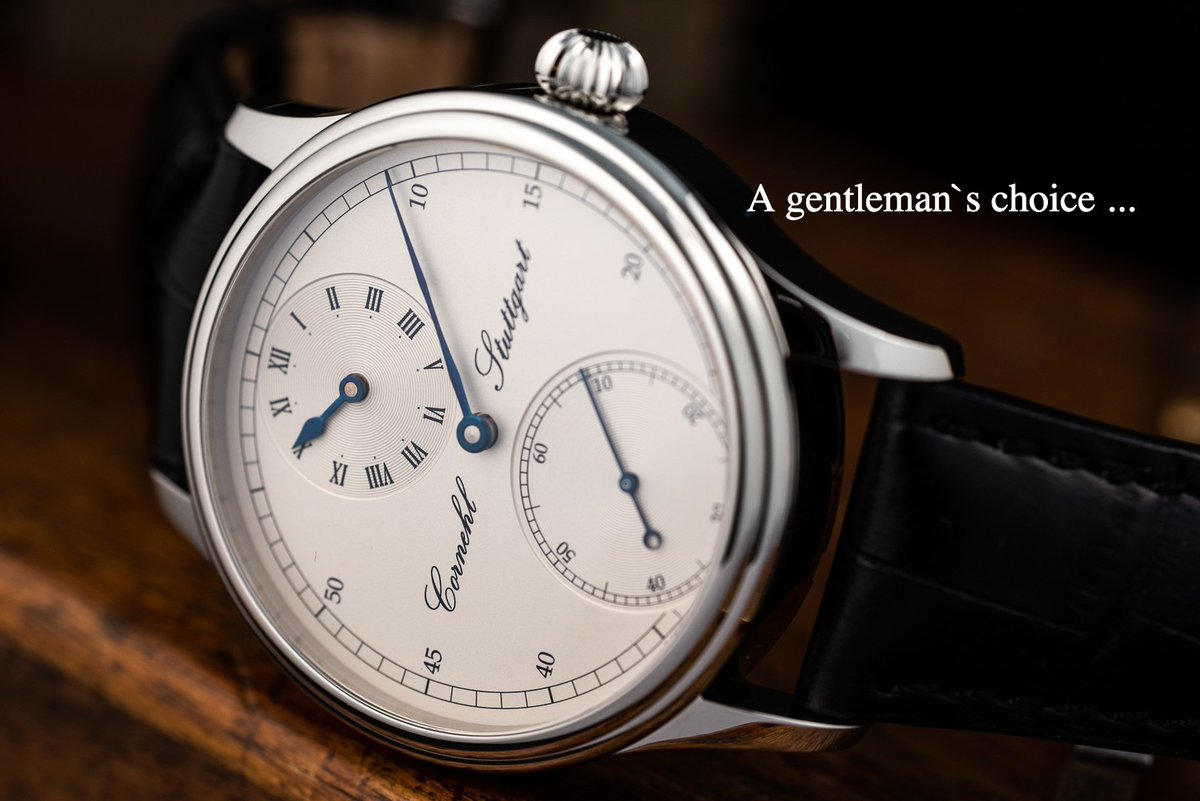 """""""A gentleman's choice of timepiece says as much about him as does his Saville Row suit."""" – Ian Fleming   #cornehl #cornehlwatches #time #timepice #germany #stuttgart #madeingermany #craftsmanship #artisan #uhren #watches #uhrmacherkunst #watchmaking #horology https://t.co/ETdD2ftQ80"""