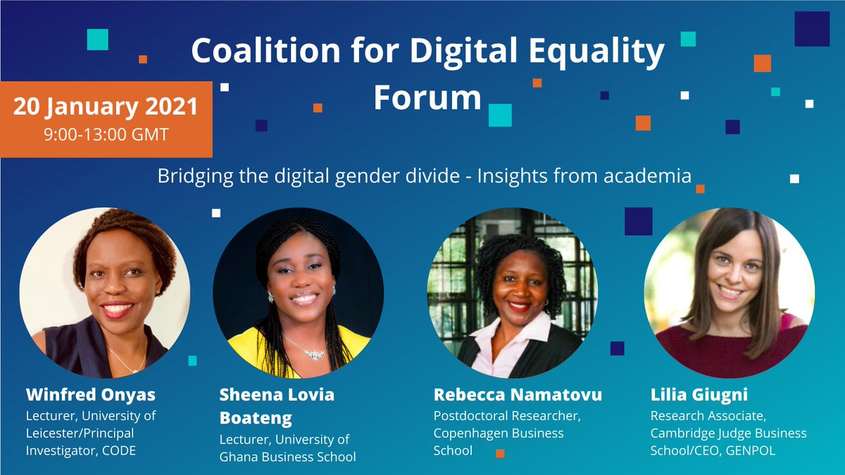 Academic research provides an unparalleled opportunity to inform and further industry knowledge and practise. Join us as we discuss insights from academia on bridging the digital gender divide in Africa.