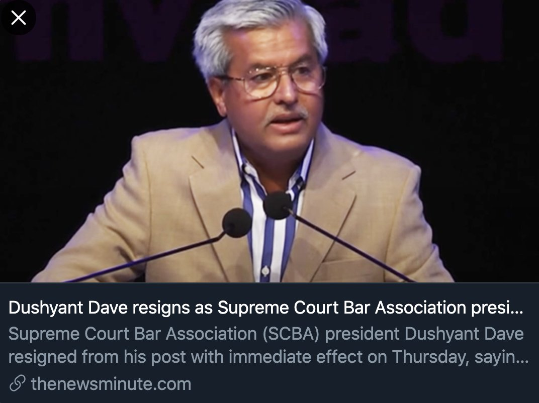 Thanks #DushyantDave for speaking truth to power. thenewsminute.com/article/dushya…