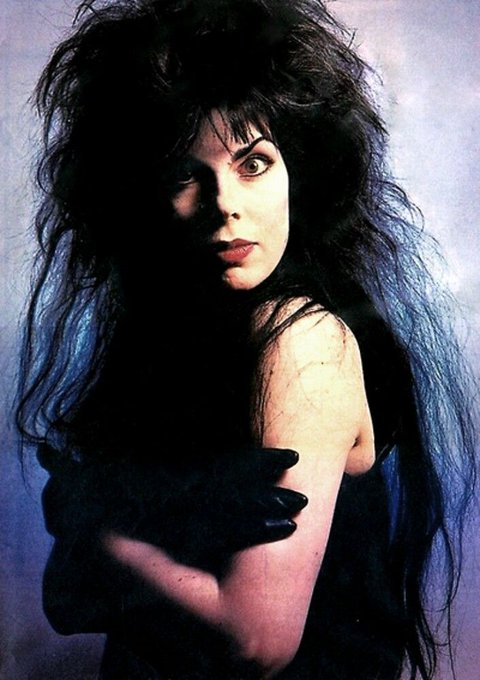 Please join me here at in wishing the one and only Patricia Morrison a very Happy Birthday today