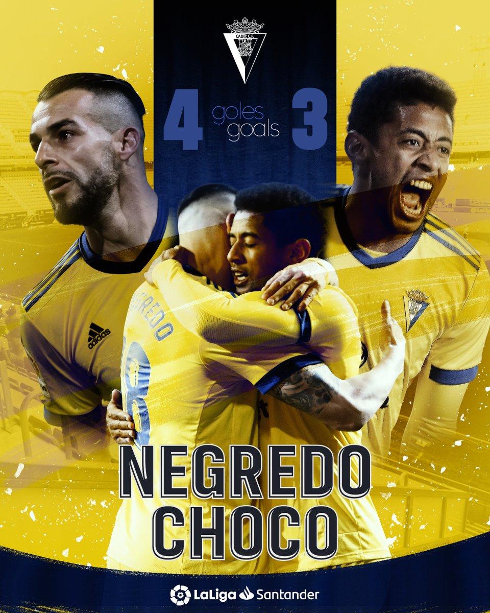 💛 @AlvaroNegredo9  💛 'Choco' Lozano  @Cadiz_CFEN's 🔝 scorers in #LaLigaSantander this season!  🤜⚽️🤛  #YouHaveToLiveIt