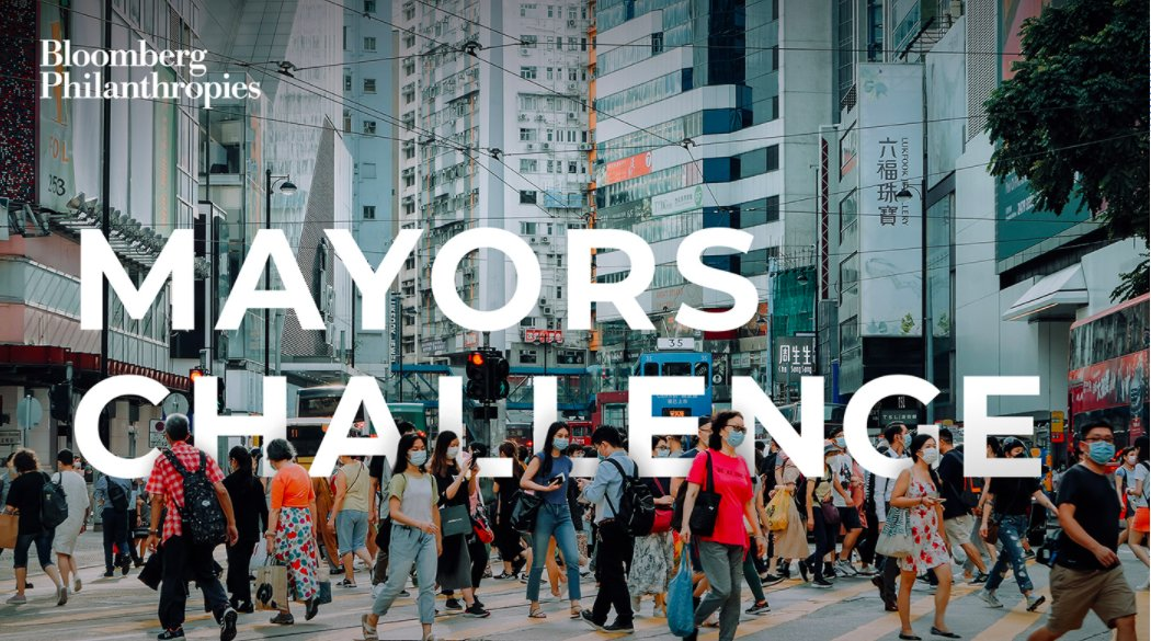 The 2021 Global #MayorsChallenge is looking to elevate the most inventive ideas from around the world that will transform cities.   The Challenge will award 15 grand prize winners to help cities implement their breakthrough ideas!   More at