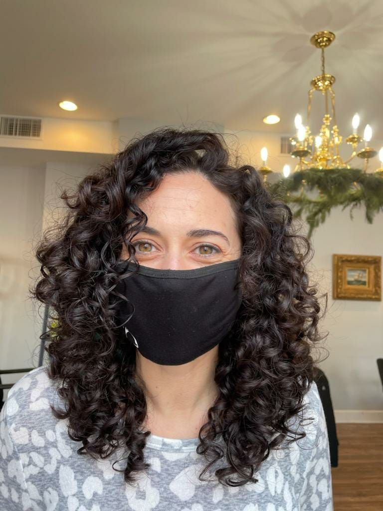 The most fun thing to watch is someone discovering their curly potential for the first time. Gives you the best #smize!!